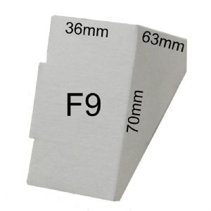Cardboard Picture Frame Corner Protectors (F9)  36mm x 70mm x 63mm